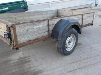 Single Axle Trailer - remolque de coche