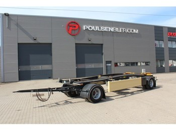 Remolque portacontenedore/ intercambiable Huffermann 2-axle for container