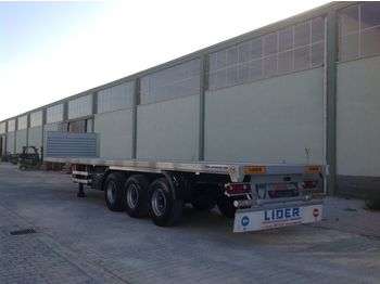 Semirremolque plataforma/ caja abierta LIDER 2020 YEAR NEW MODELS containeer flatbes semi TRAILER FOR SALE