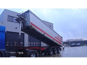 Semirremolque volquete LUCK BPW-AXLES / DRUM BRAKES / FREINES TAMBOUR / CHASSIS from STEEL / TIPPER from ALU)